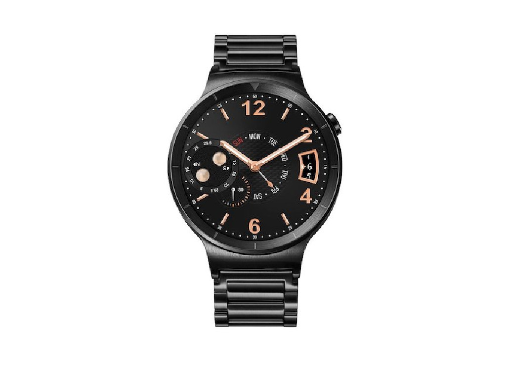 Watch Black Stainless Steel